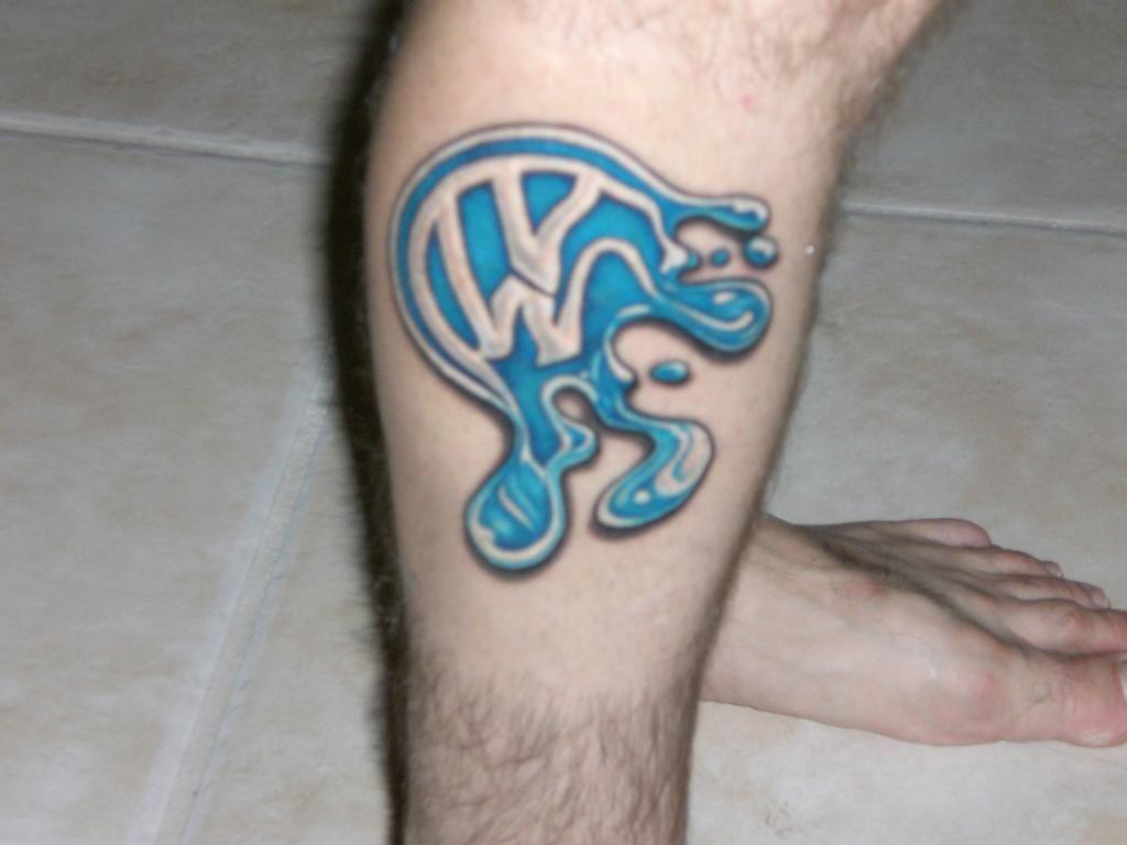 Vw watermark tattoo | Das VW Tattoos | Pinterest | Vw, Tattoo and Tatoos