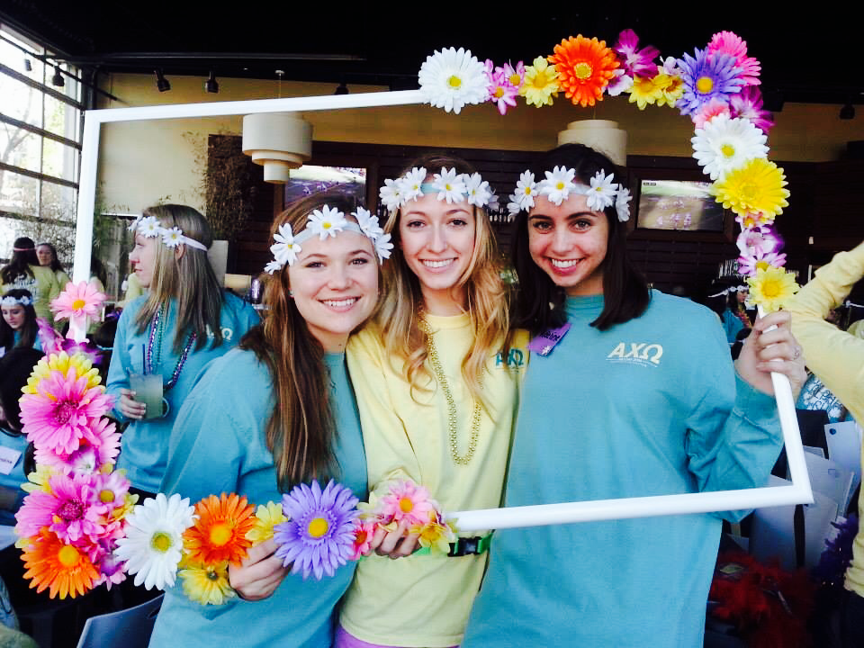 Préférence ❃❁ flower power on Bid Day 2014 ❁❃ | alpha chi omega sugar  WH68