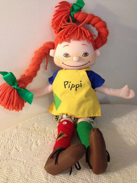 Pippi Longstocking Doll | Hey, Pippi Langstrumpf | Pinterest | Pippi ...