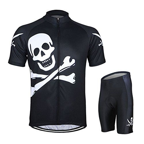 Mens short sleeve cycling jersery suit Mens cycling Jersey Short set for Team