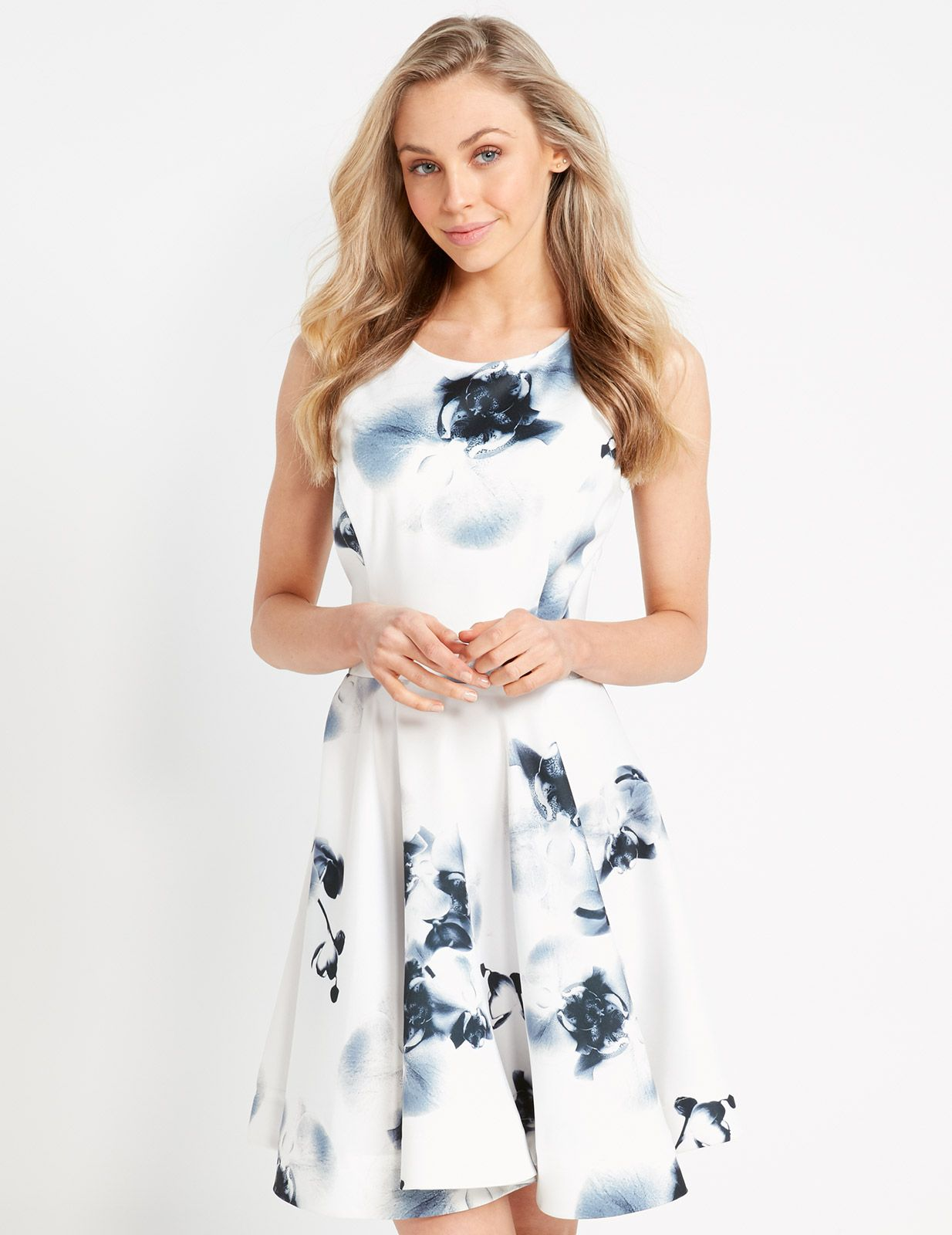 b46f5dba0cb5 Image for Polished Floral Dress from Dotti