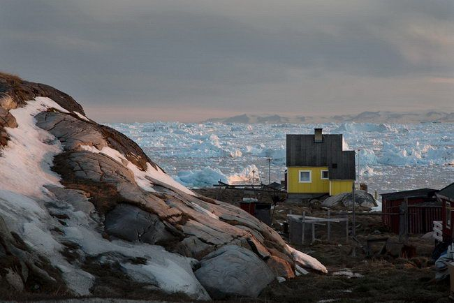Christophe-Jacrot The Yellow House Greenland