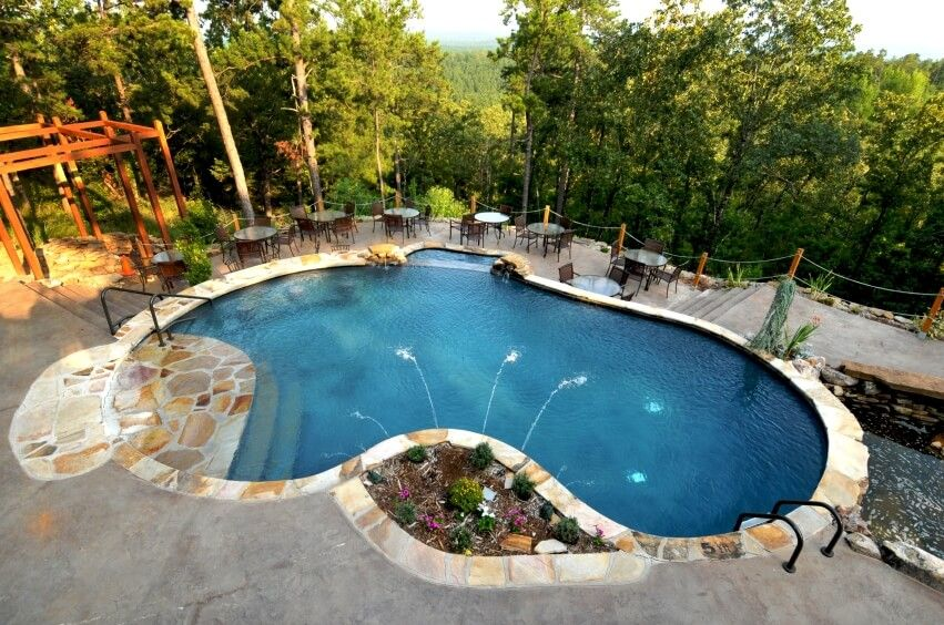 101 Swimming Pool Designs And Types Photos Pool Cost Kidney Shaped Pool Swimming Pool Designs