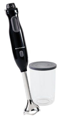 Kitchenaid Khb100ob Hand Blender Onyx Black Love This Tool Mine Broke Need A New One With Images Hand Blender Kitchen Aid Kitchenaid Immersion Blender