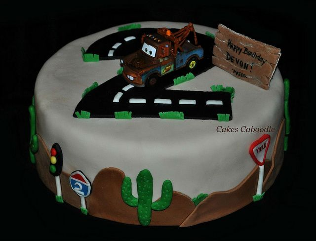 Mater Cake by Cakes Caboodle, via Flickr
