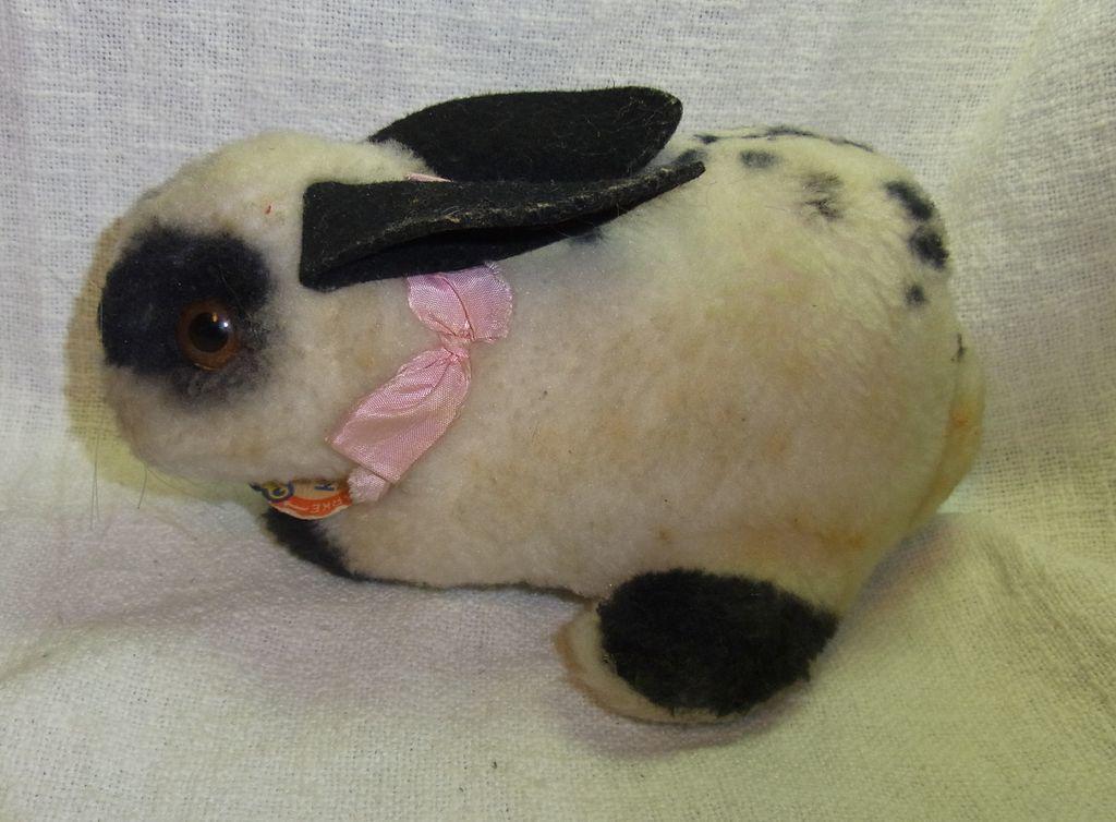 Vintage German Stuffed Animal Steiff Monkey Without Button Ba