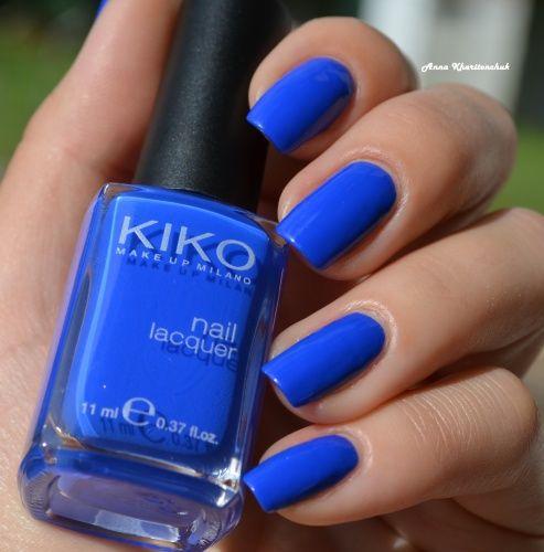 Kiko Nail Lasquer #336 Electric Blue