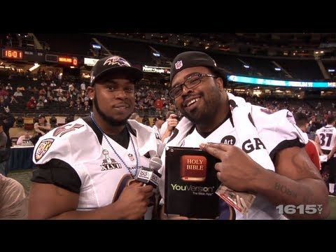 America's top football players share what they love about the Bible App. - YouTube (With images)   Bible apps. Bible. Football players
