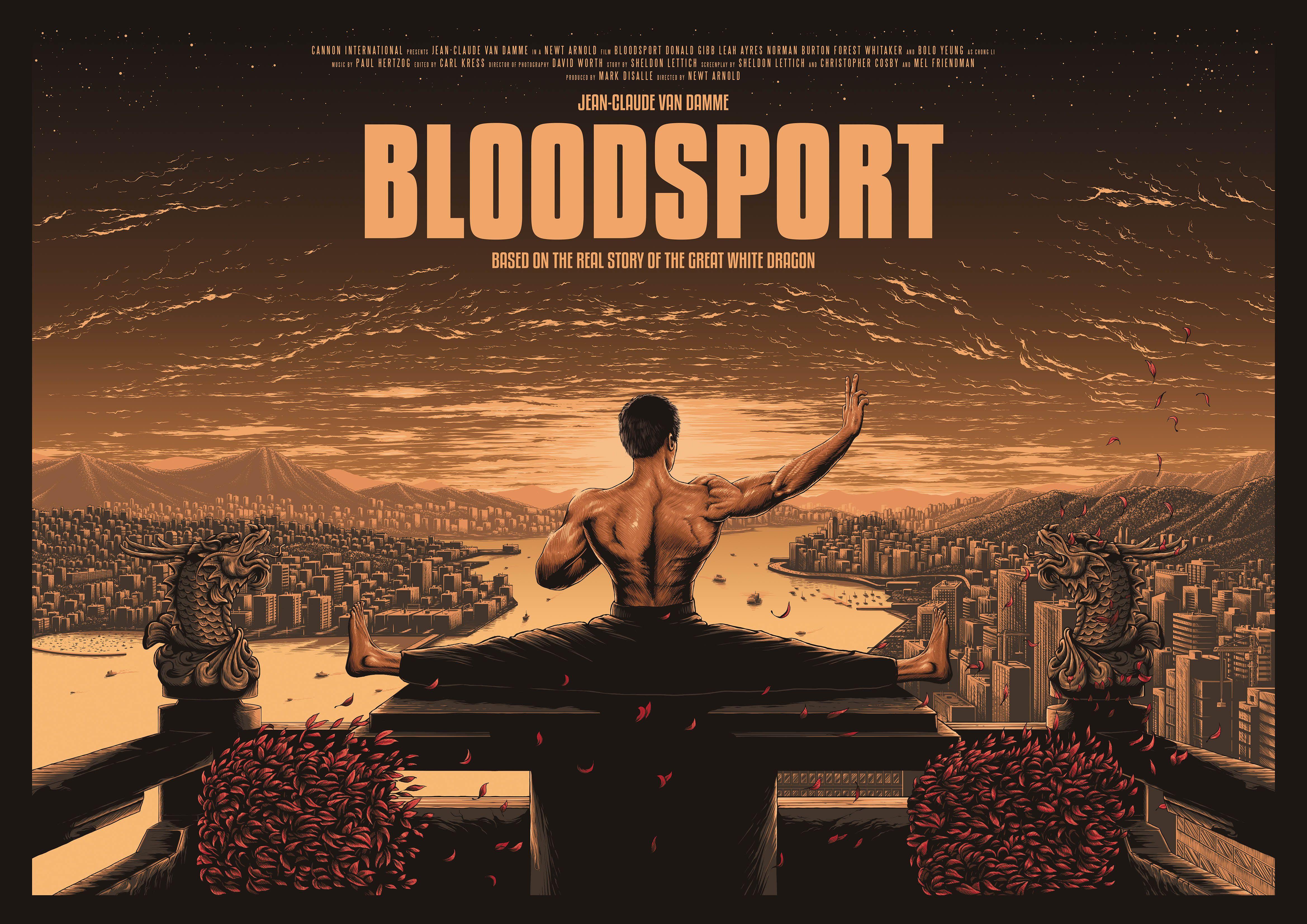 Bloodsport posterspy bloodsport bloodsport movie