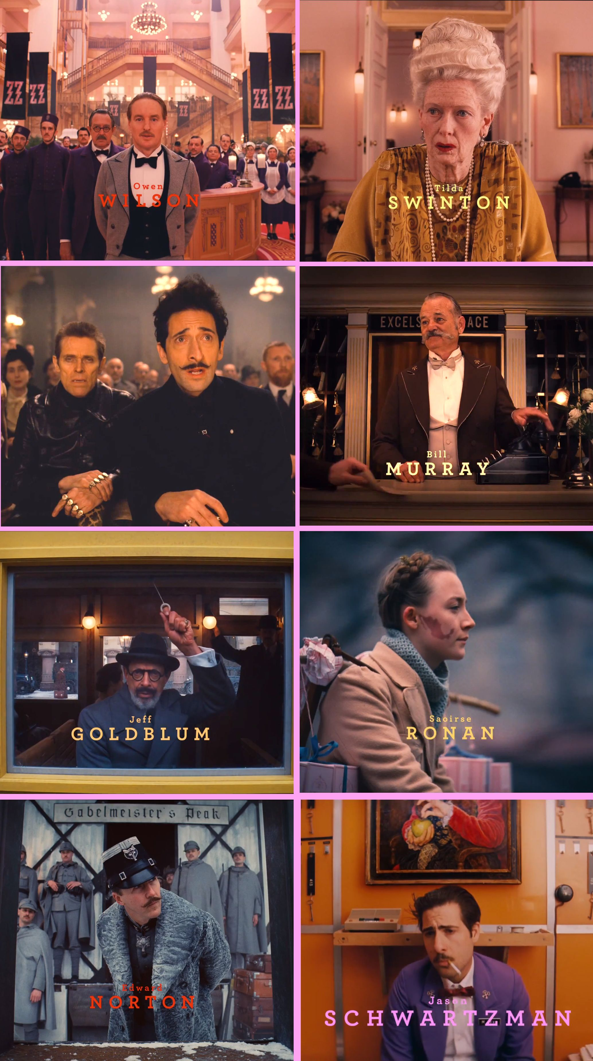 Wes Anderson S The Grand Budapest Hotel 2013 Intro Screenshots