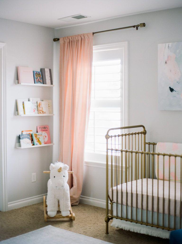 Sweet Pastel Nursery Pastel nursery, Nursery curtains