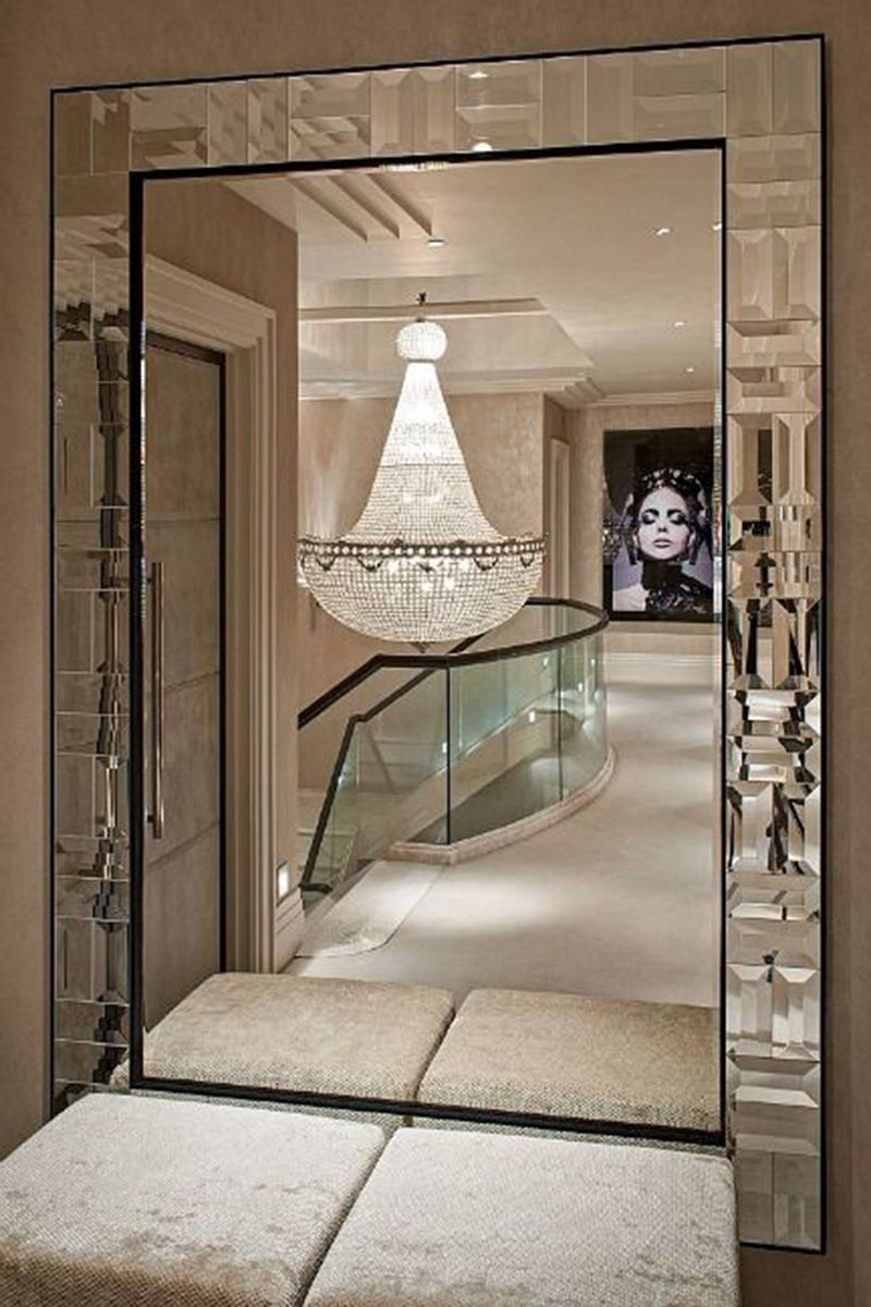 Interior design pinspiration the glamorous life walls interiors a statement making wall mirror is an investment worth making to take your home to arubaitofo Gallery