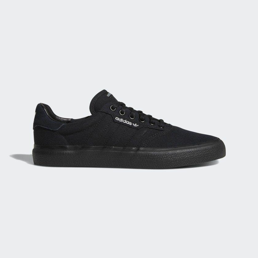 3MC Vulc Shoes Core Black / Core Black / Grey Two B22713 ...