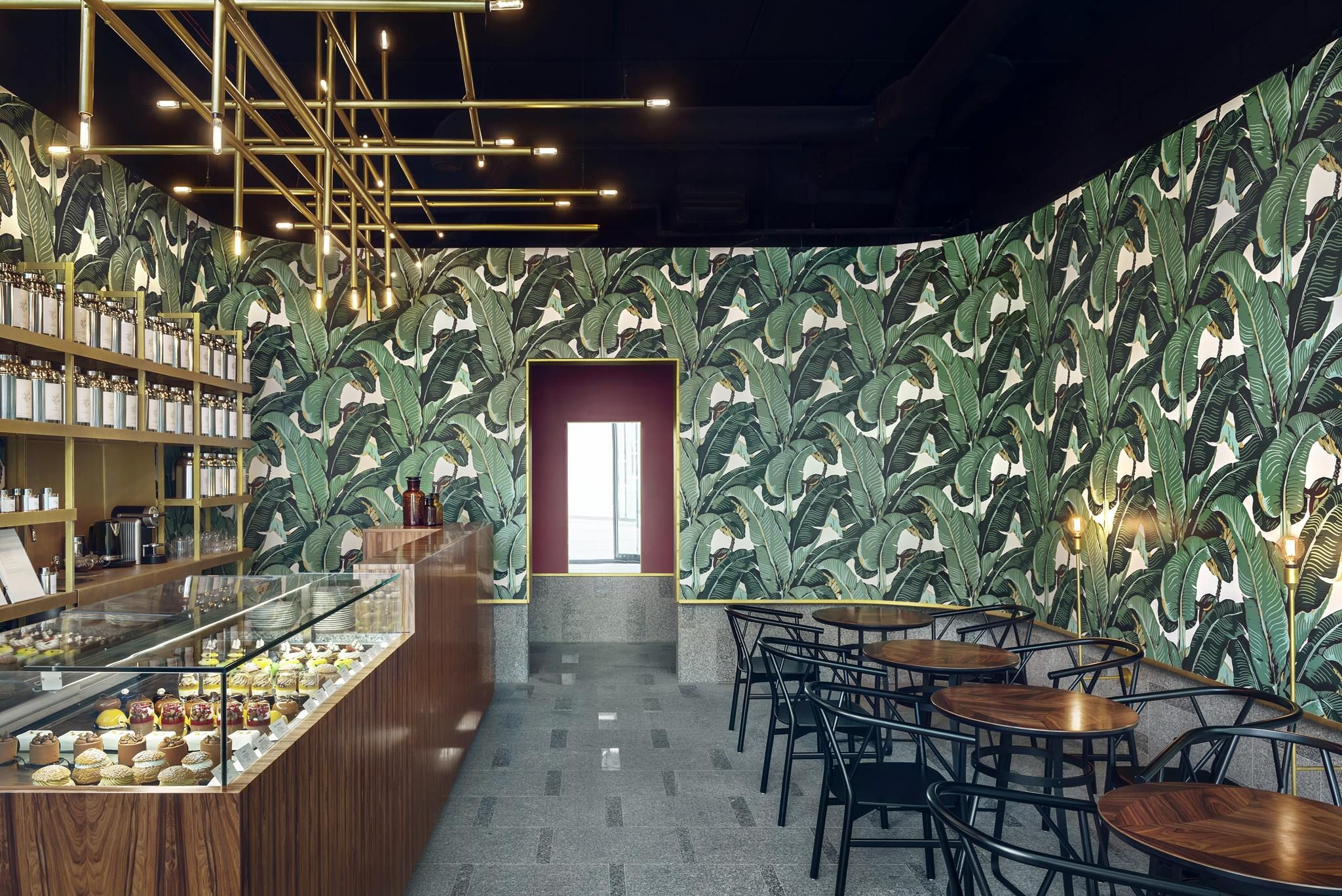 odette tea room w warszawie projektu ugo architecture - pln design