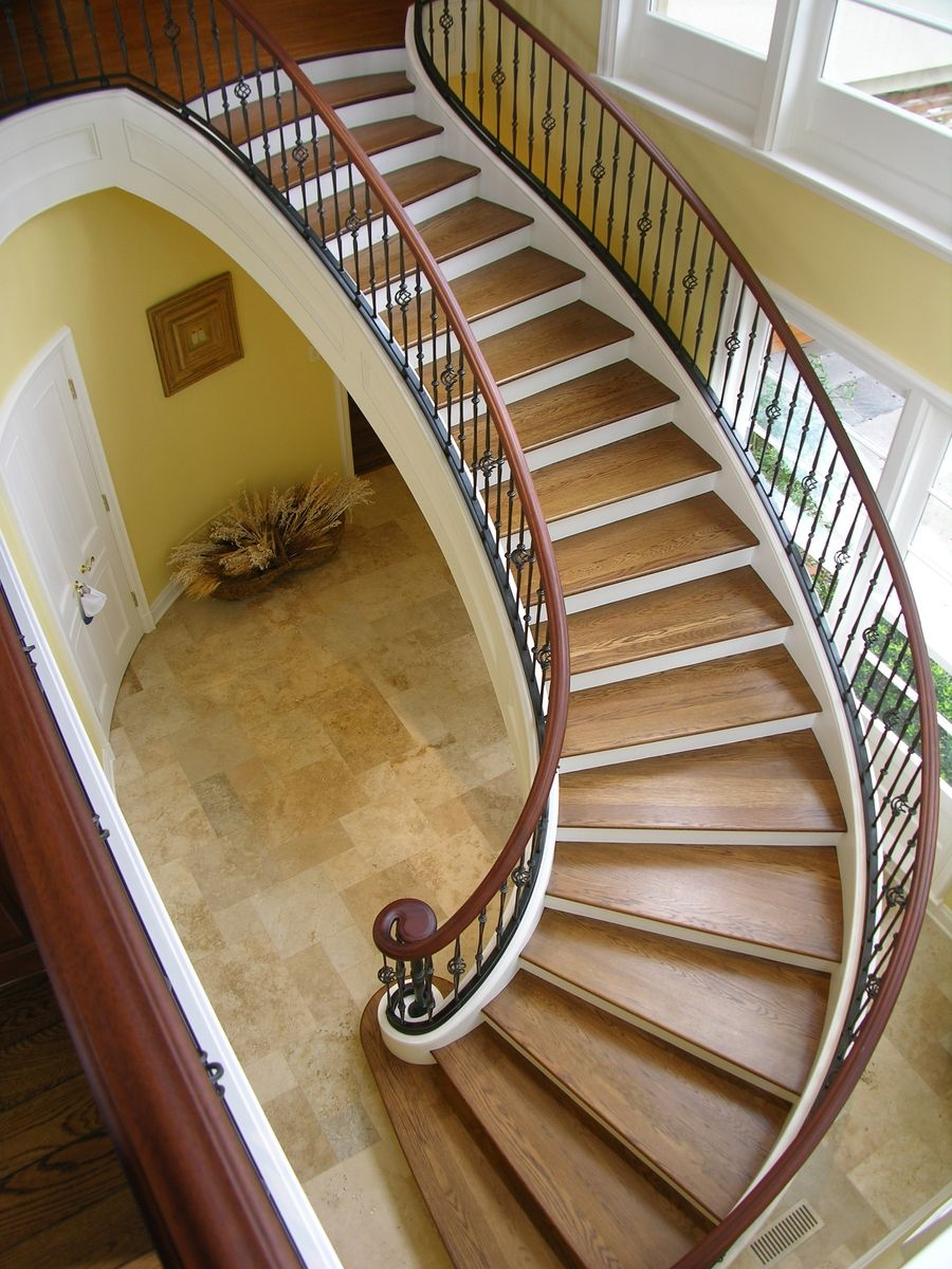 Curved Free Standing Stair With images   Stairs ...