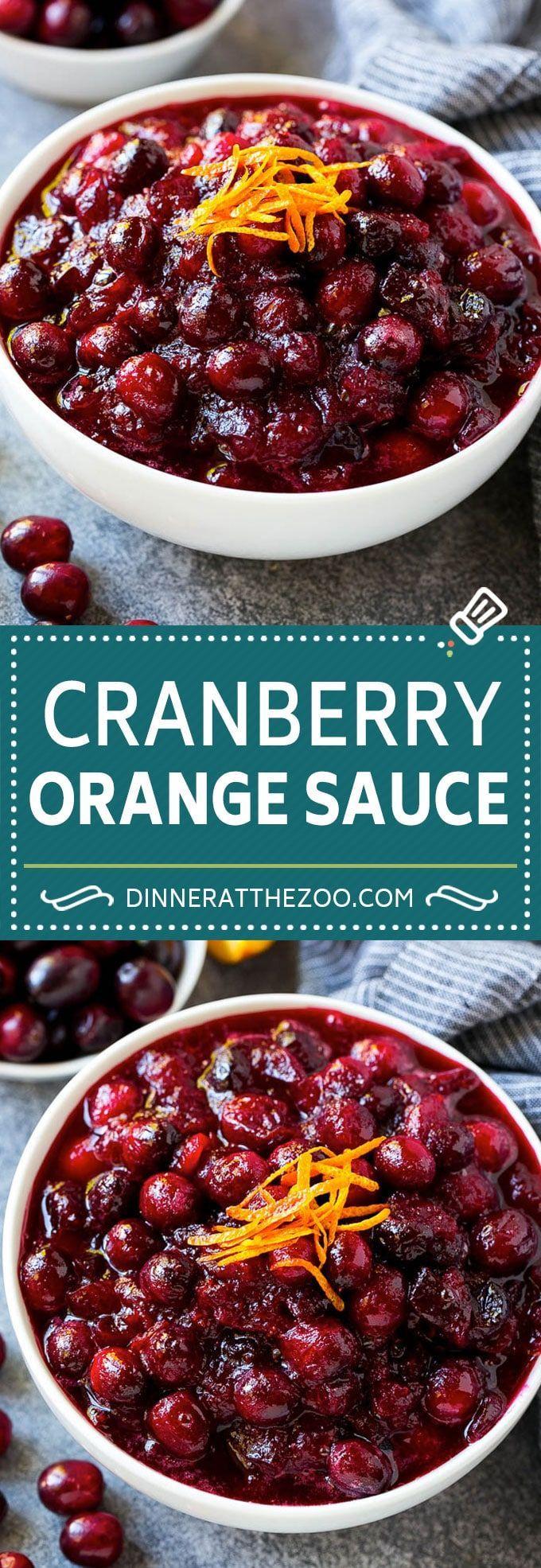 Cranberry Orange Sauce Recipe | Homemade Cranberry Sauce | Fresh Cranberry Sauce #cranberry #orange #fall #thanksgiving #sauce #dinner #dinneratthezoo #thanksgivingrecipes