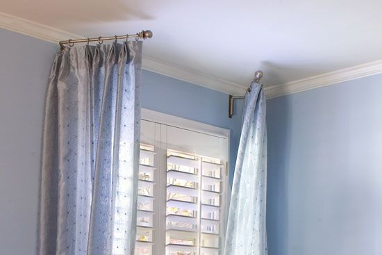 Curtain Swing Arm Rods - Curtains Design Gallery