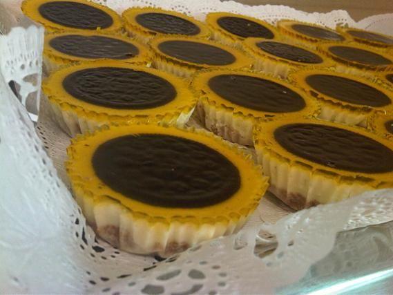 حلى دوار الشمس Http Forums Gntee Com Showthread Php T 5363 Mini Cheesecake Cheesecake Desserts