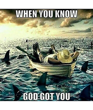 God Is Good All The Time Meme