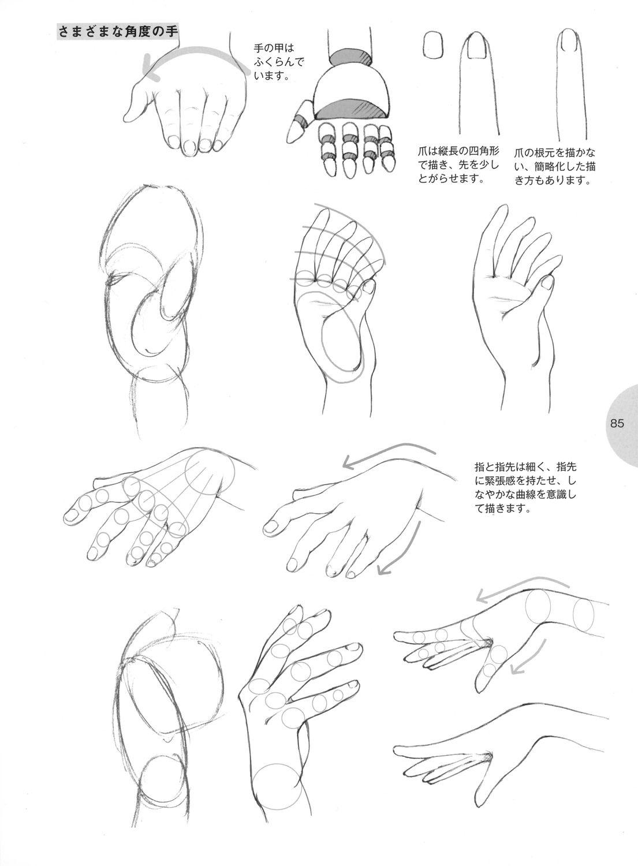 Como Desenhar Manga Com Imagens Como Desenhar Maos Desenho
