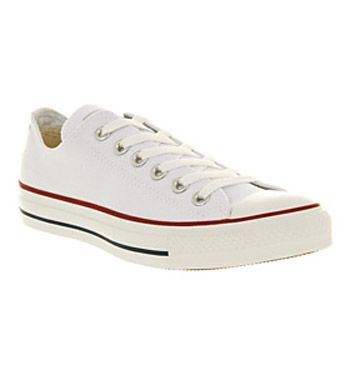 WHITE CANVAS Shoes - Converse Trainers
