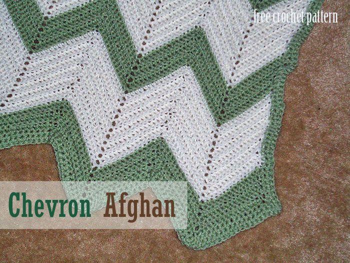 Free Crochet Afghan Patterns | chevron afghan chevron afghan print ...