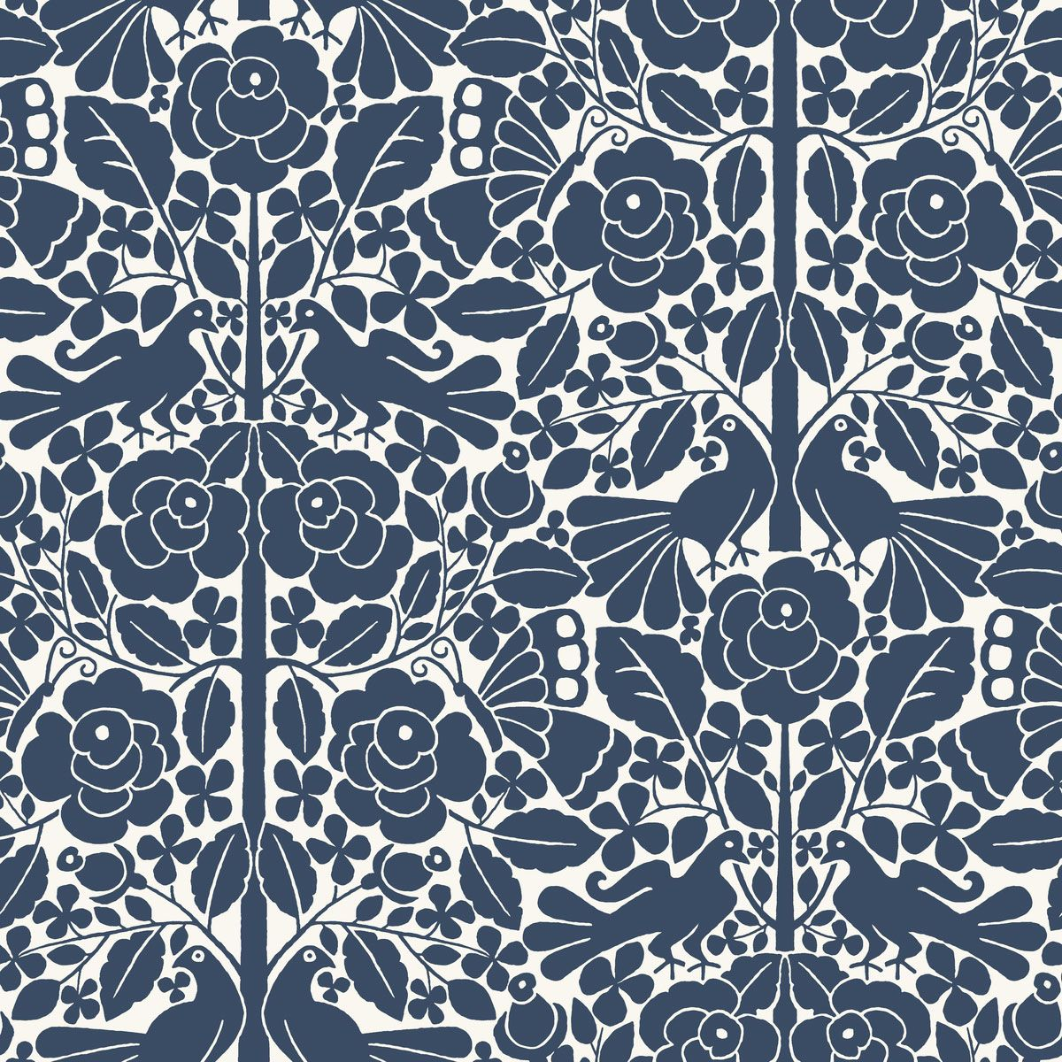 magnolia home fairy tales wallpaper navy in 2019 artful prints rh pinterest com
