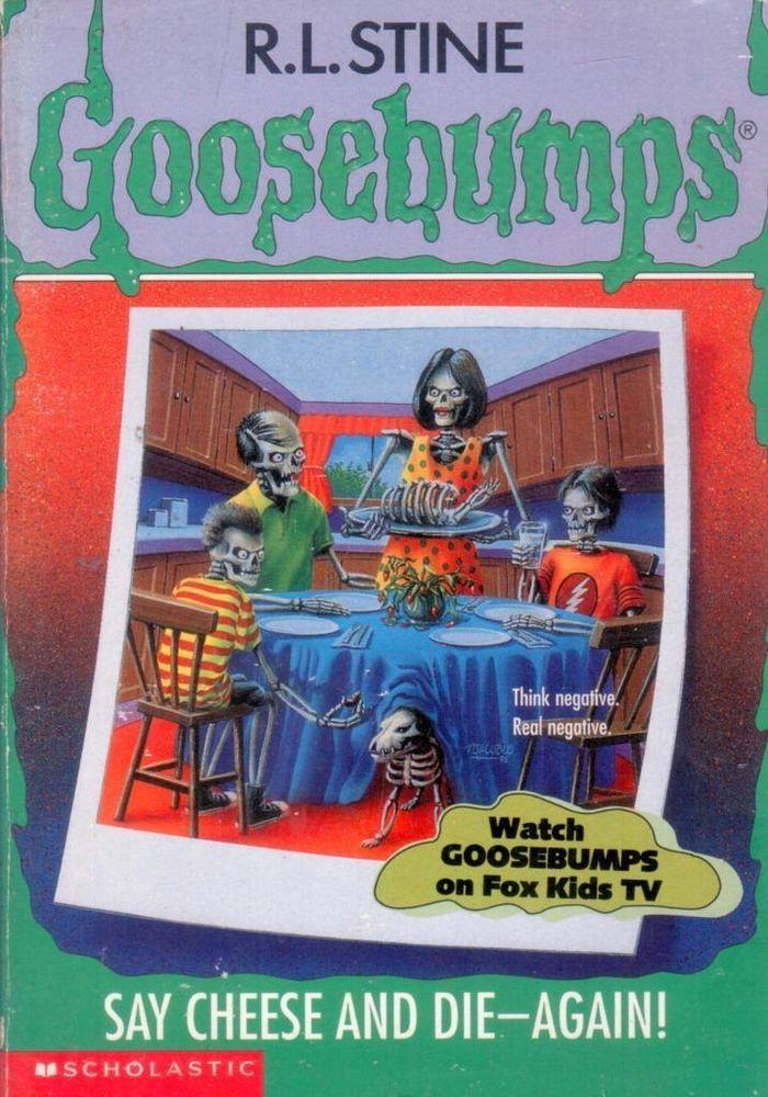 Goosebumps audio books