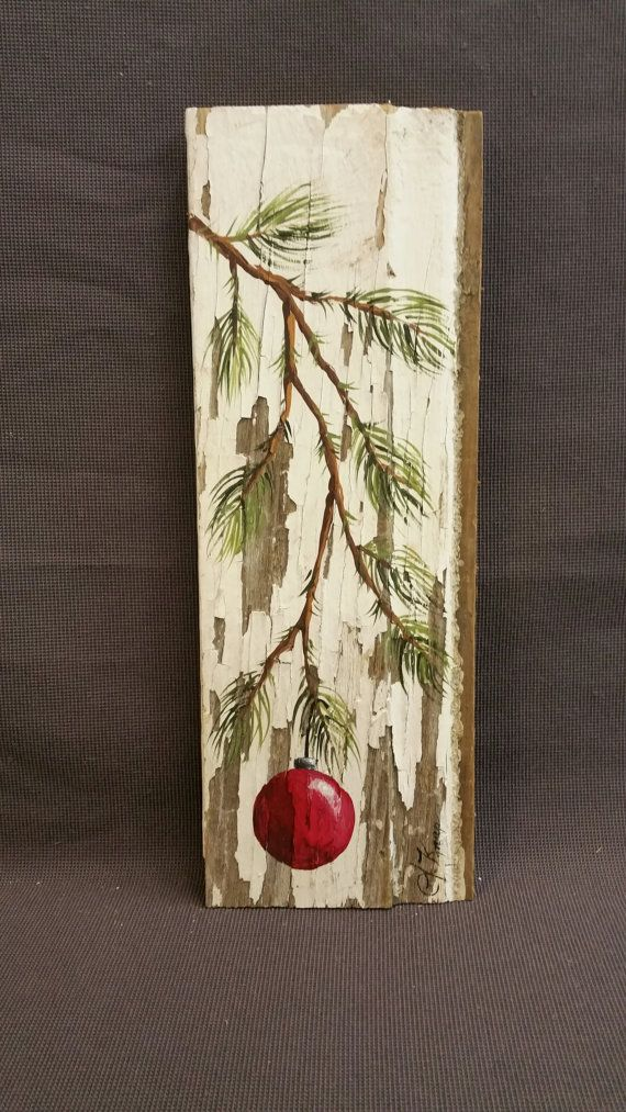 Reclaimed Wood Wall Art Shabby Chic