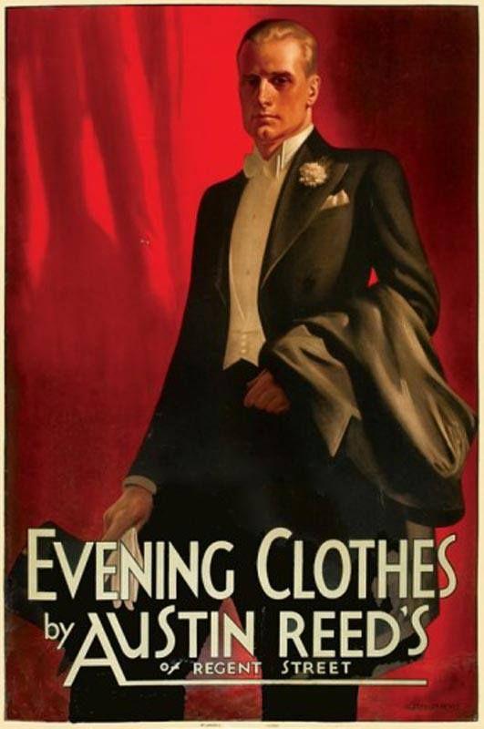 Pin By Thomas R Leslie Iv On Art Deco Posters Fashion Illustration Vintage Vintage Mens Fashion Fashion Painting