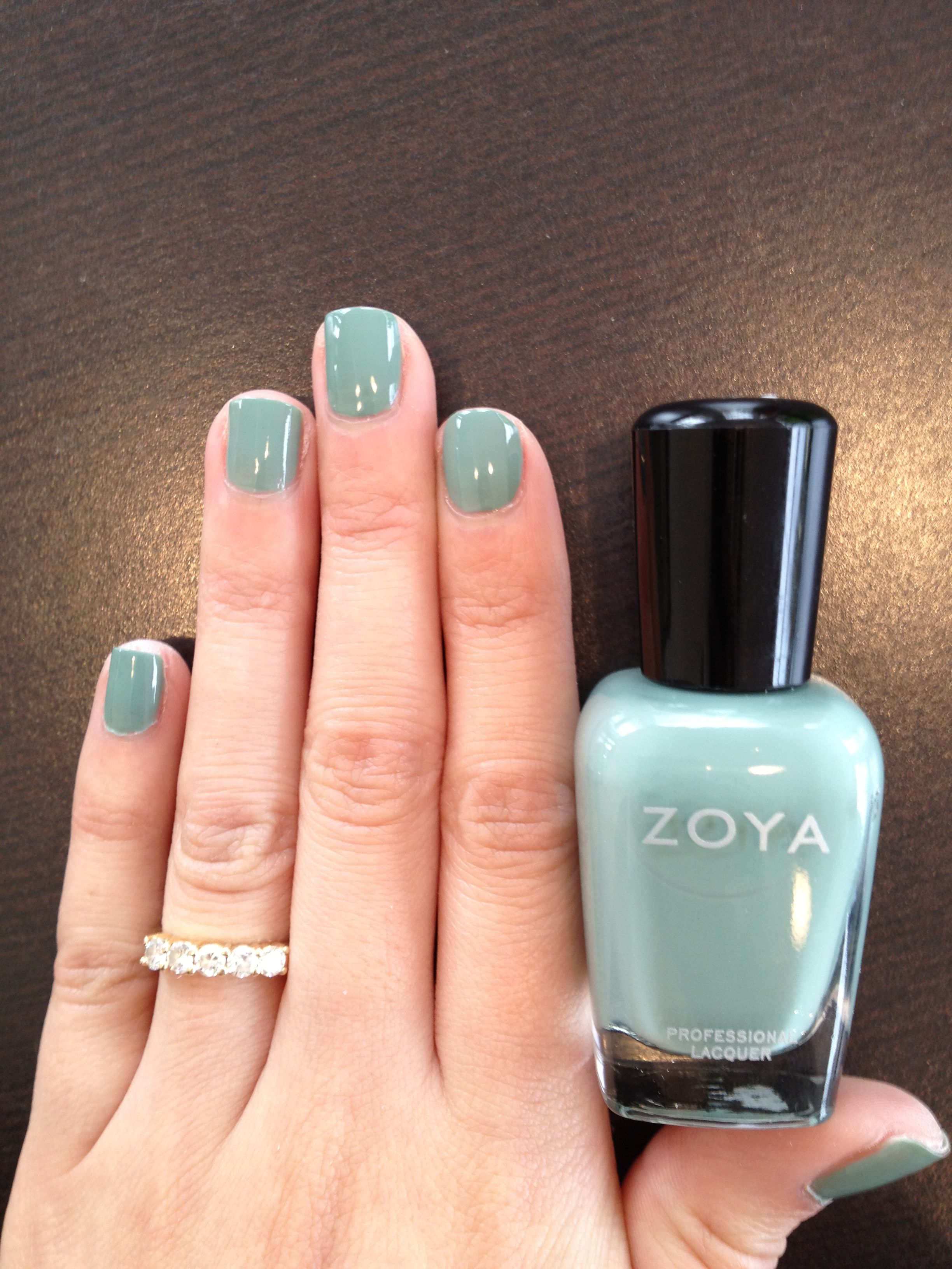 green nail polish colors | 2012 Nail Polish Trends at Zazen! Almost ...
