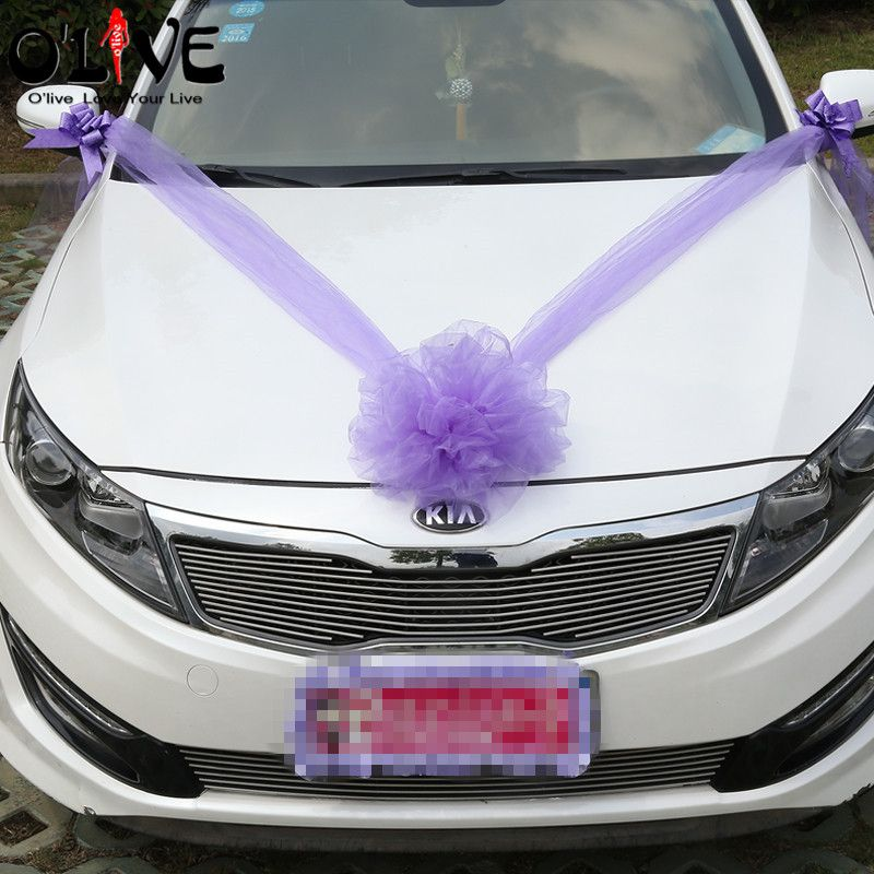 Simple Wedding Car Decoration Ideas: Cheap Party Dressings, Buy Quality Party Supplies Ballons