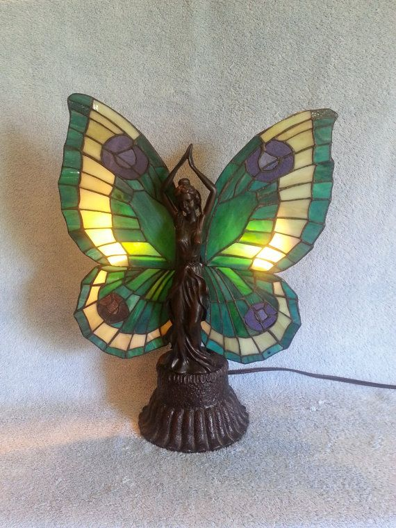 Guardian Angel Lamp   Tiffany Style Stained Glass Accent Lamp | Guardian  Angels, Tiffany And Angel