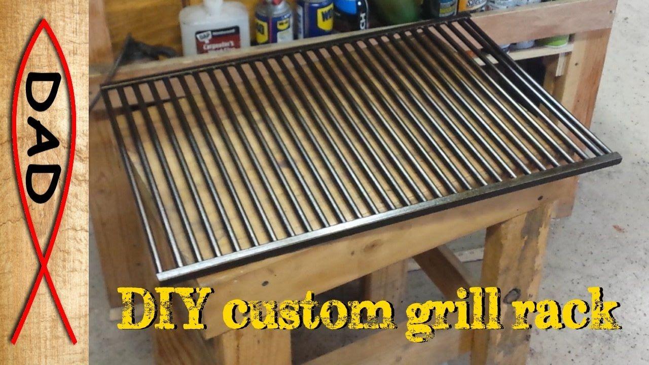 Heavy duty custom grill rack Custom grill, Grill rack