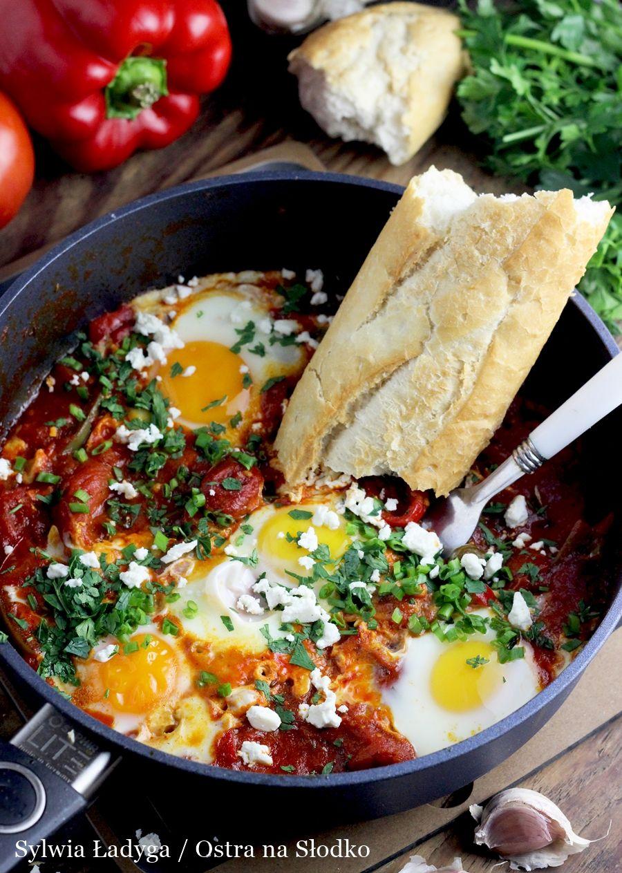 Najlepsza Tunezyjska Szakszuka Shakshouka Culinary Recipes Workout Food Cooking Recipes