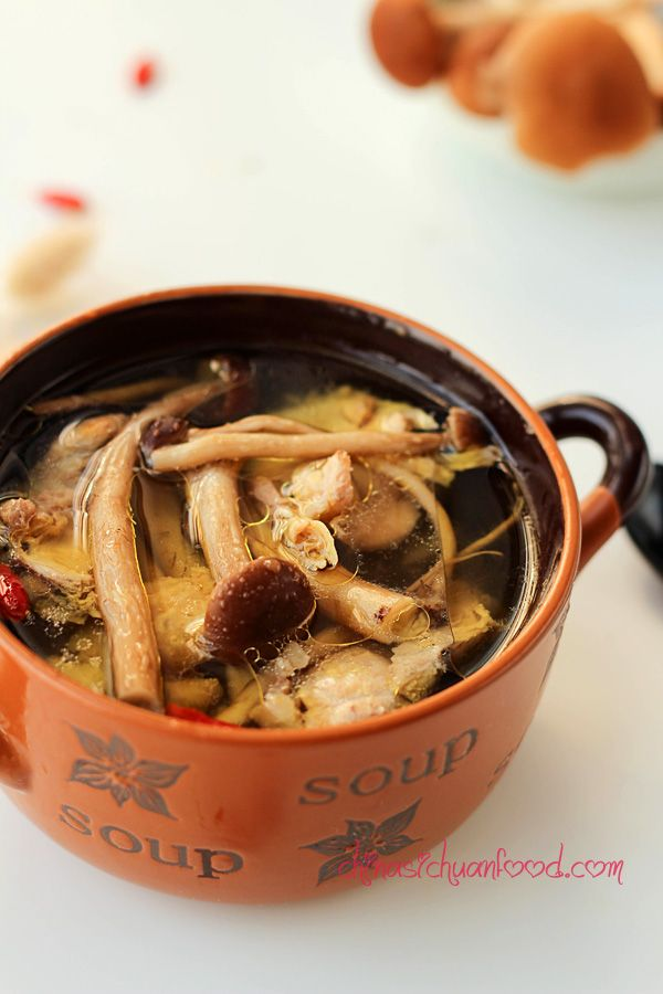 Chicken Mushroom Soup Ingredients Whole Chicken 1 Small