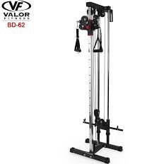 Valor Fitness Bd 62 Wall Mount Cable Station Cable Workout No Equipment Workout At Home Gym