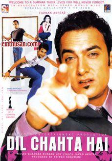 Dil Chahta Hai Hindi Movie Online - Aamir Khan, Saif Ali Khan, Akshaye Khanna and Preity Zinta. Directed by Farhan Akhtar. Music by Shankar-Ehsaan-Loy. 2001 Dil Chahta Hai Hindi Movie Online.