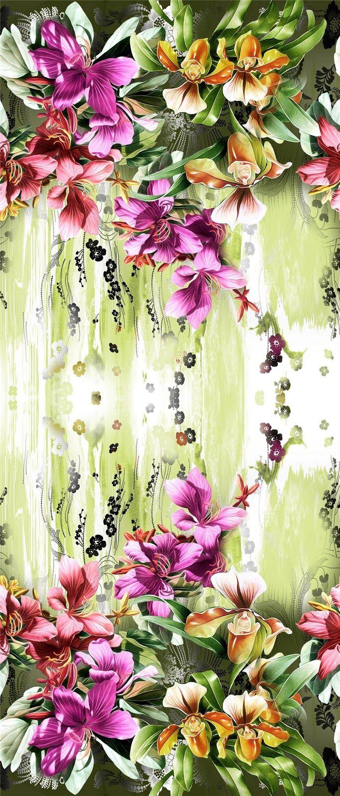Paintingflower Designdigital Print1 Blisse Design Studio