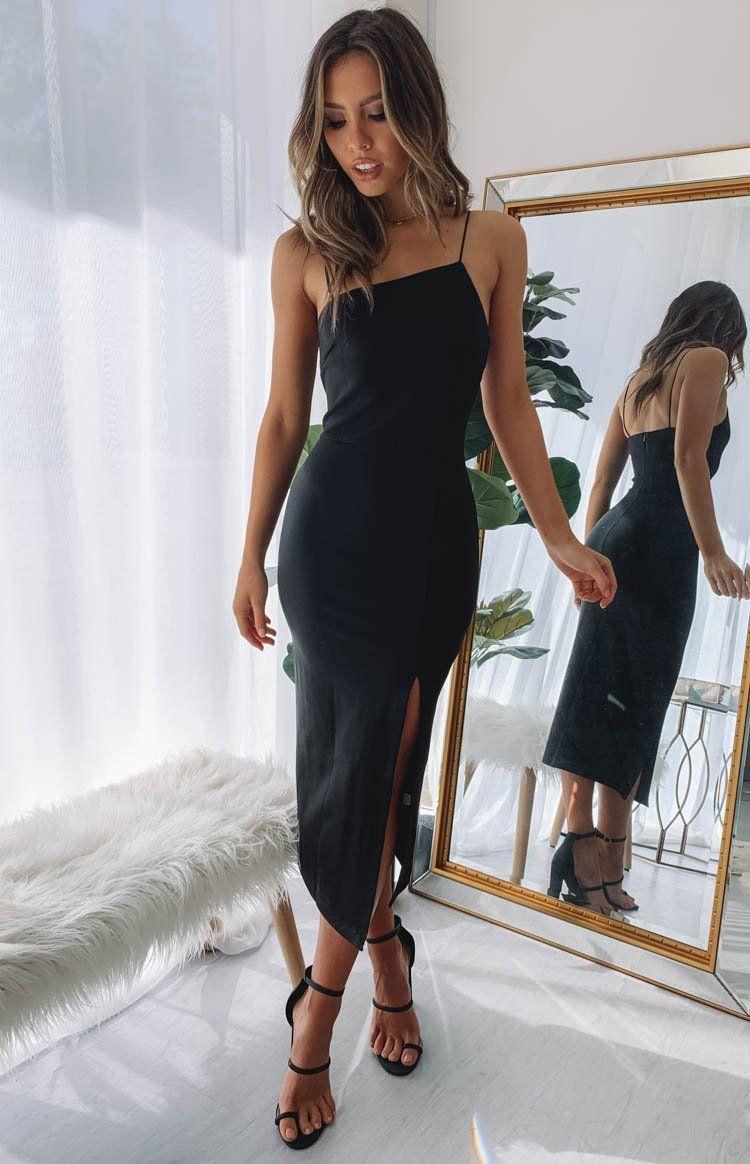 Cecilia Bodycon Dress Black Midi Dress Bodycon Bodycon Dress Black Bodycon Dress [ 1164 x 750 Pixel ]