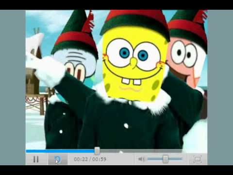Sponge Bob Elf Yourself FUN for students to dance to as a