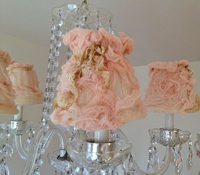 Pink chandelier shades lamps and lighting pinterest pink chandelier shades mozeypictures Gallery
