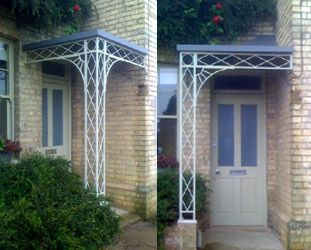 Porches Amp Verandas Canopies Verandahs In Wrought Iron