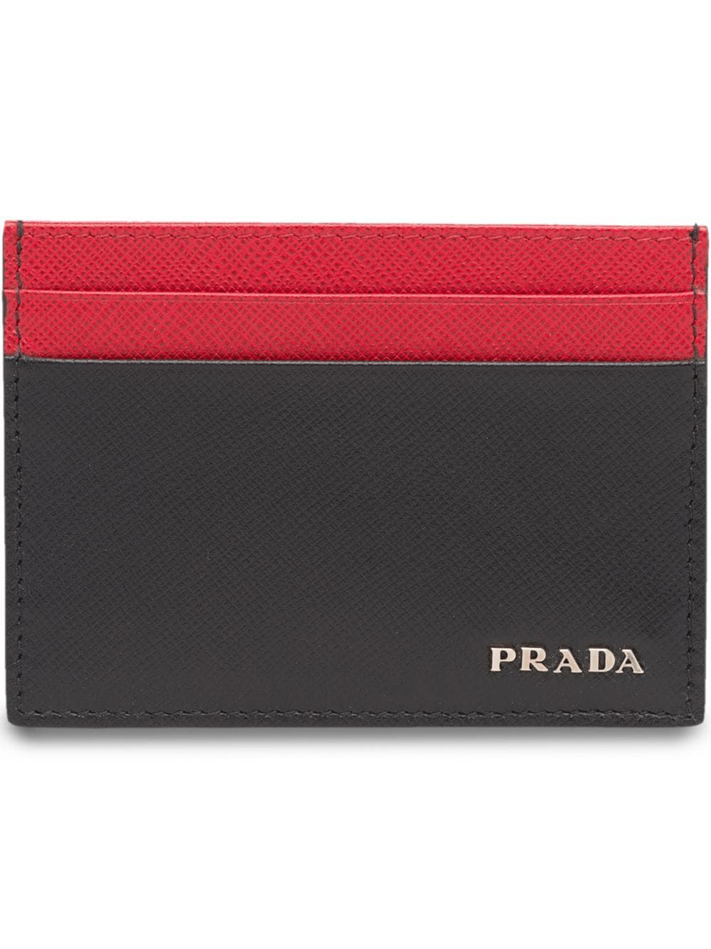a89f964514fb PRADA PRADA SAFFIANO LEATHER CARD HOLDER - BLACK. #prada | Prada ...