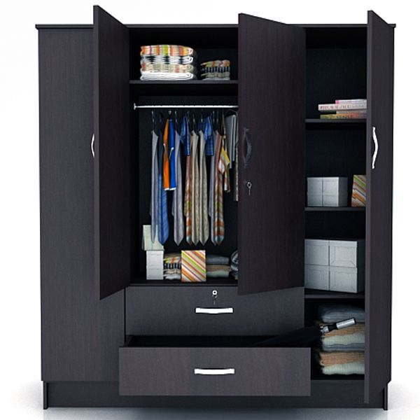 4 Door Wardrobe Designs For Bedroom Google Search