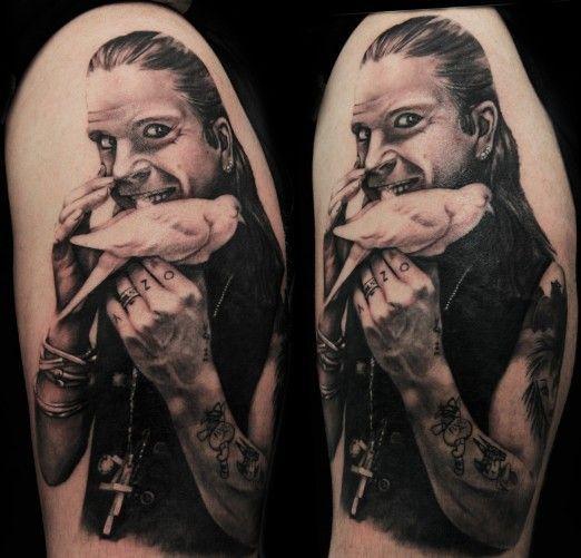 Ozzy Osbourne Tattoo Recherche Google Tattoo Ideas Tattoos
