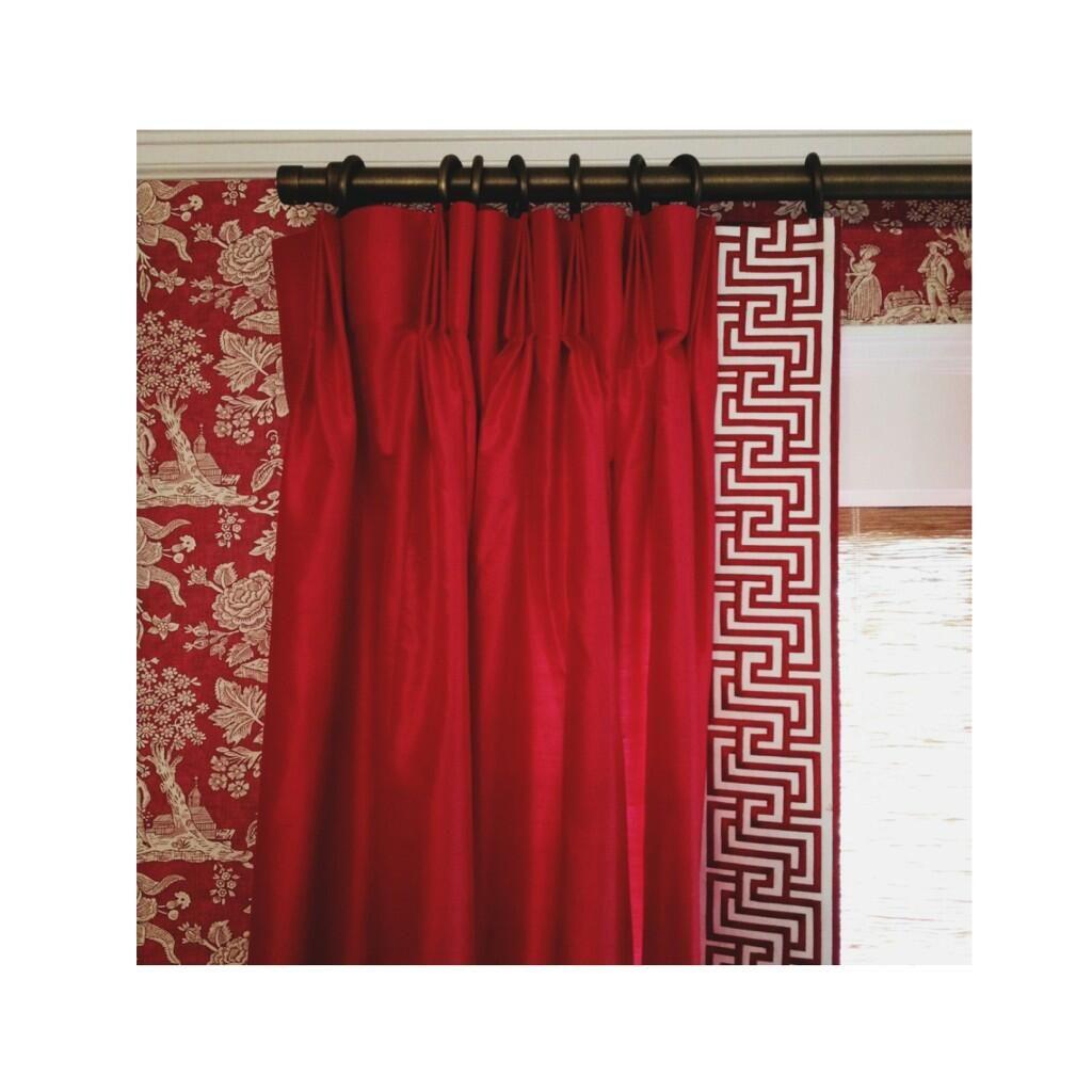 mary mcdonald trim vorh nge gardinen fensterdeko pinterest vorh nge gardinen. Black Bedroom Furniture Sets. Home Design Ideas