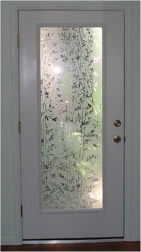 Decorative bamboo static cling decorative windows for Fancy window design