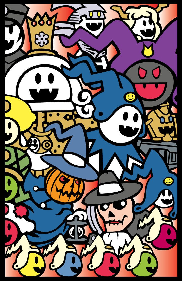 Shin Megami Tensei Poster All Kinds Of Jack By Oddpenguin Shin Megami Tensei Jack Frost Smt Jack Frost