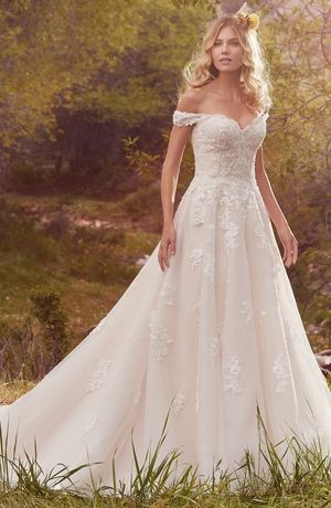Sweetheart A Line Wedding Dress With Natural Waist Bridal Gown Style Number 33508169